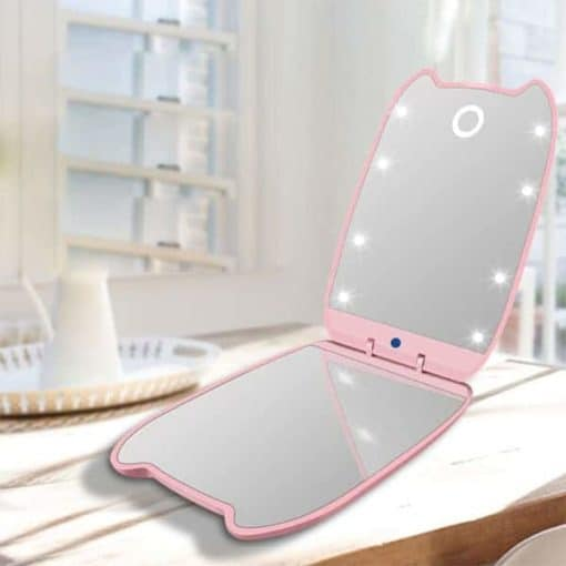 Go Kitty LED Makeup Mirror